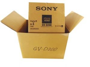 デジタルビデオカセットレコーダーGVG200お届け